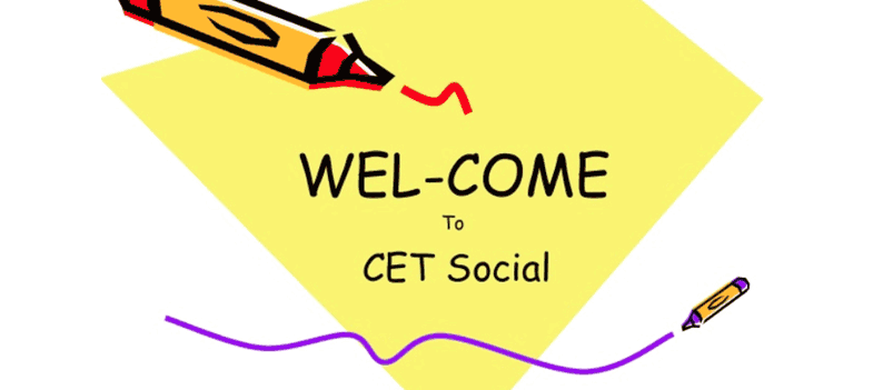 CET social presentation at H.S.Kothambari Trust's College, Vidya Nagar, Hubli