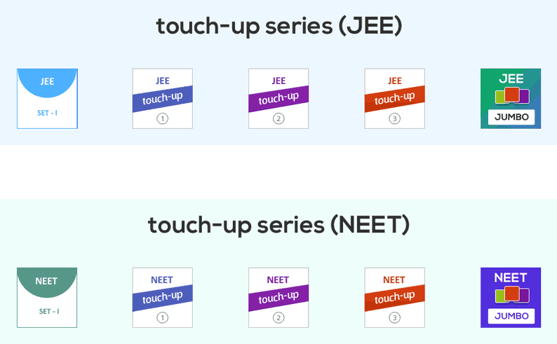 Touch-ups - NEET|JEE