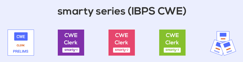 Smarty - mock exam series (Prelims|Mains) for bank clerical