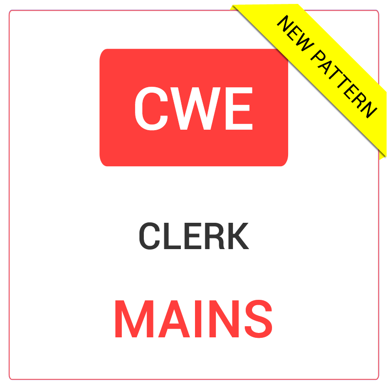 IBPS CWE Clerical Mains