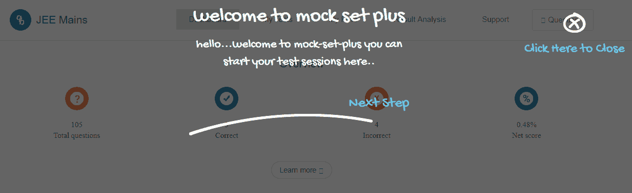 mock-set-plus dashboard