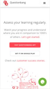 Visit Questionbang App Mobile