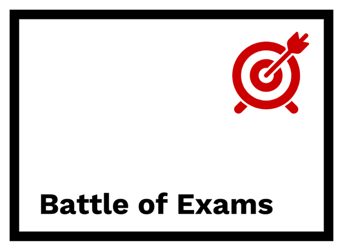 Battle of exams